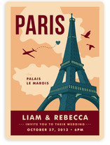 Bonjour Paris Wedding Invitations