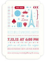 Bet on Love Wedding Invitations