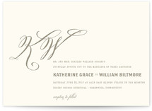 Hyde Park Wedding Invitations