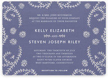 Ties that Bind Wedding Invitations