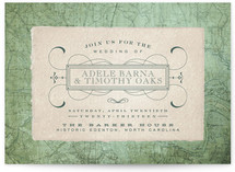 Tea and Topo Wedding Invitations