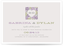 Love Blooms Wedding Invitations