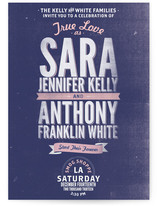 Santa Monica Modern Wedding Invitations