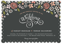 Midnight Fete Wedding Invitations