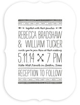Arrowhead Wedding Invitations