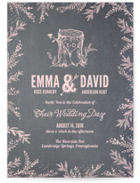 Woodland Romance Wedding Invitations