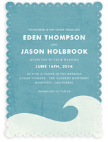 Big Wave Wedding Invitations