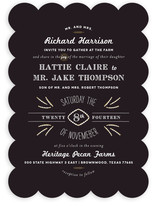 Farm to Table Wedding Invitations