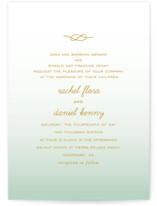 Simple Knot Wedding Invitations