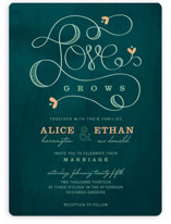 Love Grows Wedding Invitations