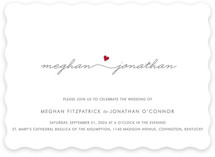Love Connection Wedding Invitations