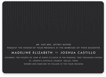Starlit Nights Wedding Invitations