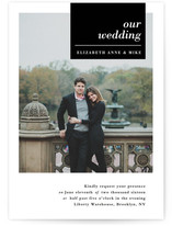 City Life Wedding Invitations