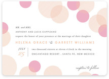 Blissful Bokeh Wedding Invitations