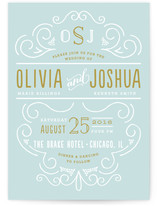 Luxe Wedding Invitations