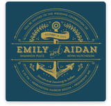 Anchored Wedding Invitations