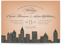 Big City - Atlanta Wedding Invitations