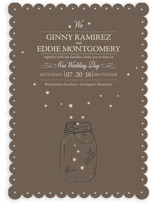 fireflies Wedding Invitations