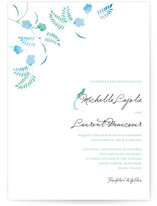 Ombre Chinoise Wedding Invitations