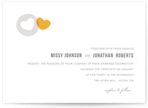 Missing Piece Wedding Invitations