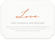 Simply in Love Wedding Invitations