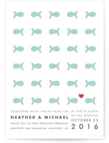 Only Fish for Me Wedding Invitations
