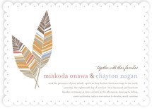 Spirit Feathers Wedding Invitations