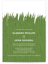 Tall Grass Wedding Invitations