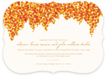 Bougainvillea Wedding Invitations