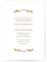 MODERN BRANCH Wedding Invitations