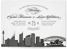 Big City Sydney Wedding Invitations
