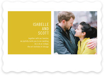 Modern Geometric Wedding Invitations