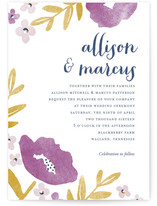 Fresh Cut Wedding Invitations