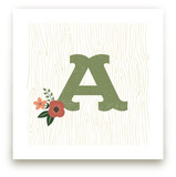 Woodsy Monogram
