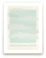 Above the Clouds by Bleu Collar Paperie
