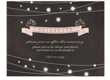 Paris Lights Reception Cards
