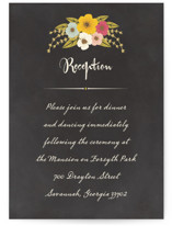 Plentiful Blossoms Reception Cards