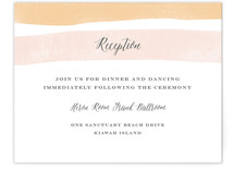 Sorbet Stripes Reception Cards