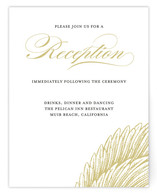 Royal Plumage Reception Cards