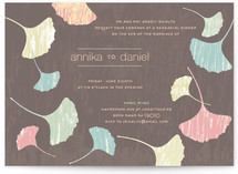 Fans of Happiness Rehearsal Dinner Invitations
