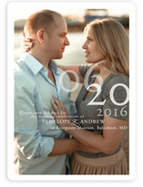 Belle Memoire Portrait Save the Date Magnets