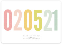 Ice Cream Parlour Pastels Save the Date Magnets