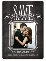 Chalked Save the Date Magnets