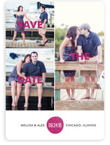 Bold Love Save the Date Magnets