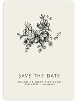 Elegance Illustrated Save the Date Magnets