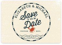 Salty Seas Save the Date Magnets