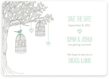 Love Let Loose Save the Date Magnets
