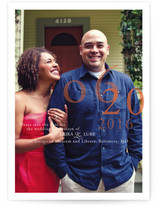 Belle Memoire Portrait Save the Date Postcards