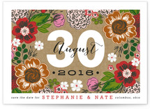 Cottage Garden Save the Date Postcards