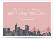 Big City - San Francisco Save the Date Postcards